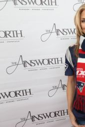 AnnaLynne McCord - Ainsworth Football Viewing Party in Park City, January 24, 2016