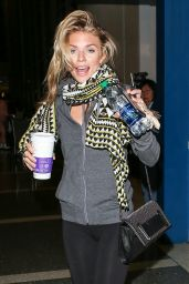 AnnaLynne McCord Airport Style - at LAX in Los Angeles 1/11/2016