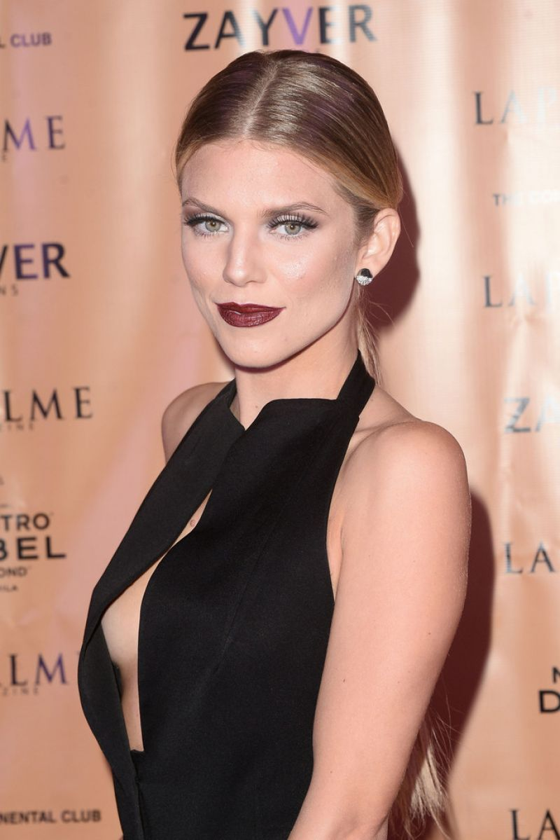 Annalynne Mccord Lapalme Magazine Winter Soiree In Los