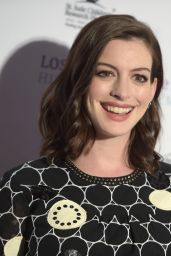 Anne Hathaway – LA Art Show and Los Angeles Fine Art Show's 2016 Opening Night Premiere Party