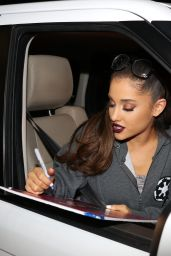 Ariana Grande - Leaving 'Jimmy Kimmel Live!' in Hollywood 1/14/2016