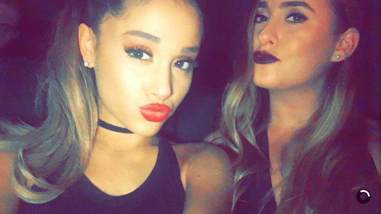 Ariana Grande Pics – Snapchat, January 2016