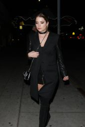 Ashley Benson Night Out - at the Nice Guy in West Hollywood 1/24/2016
