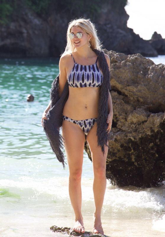 Ashley James in a Bikini - Bali, January 2016