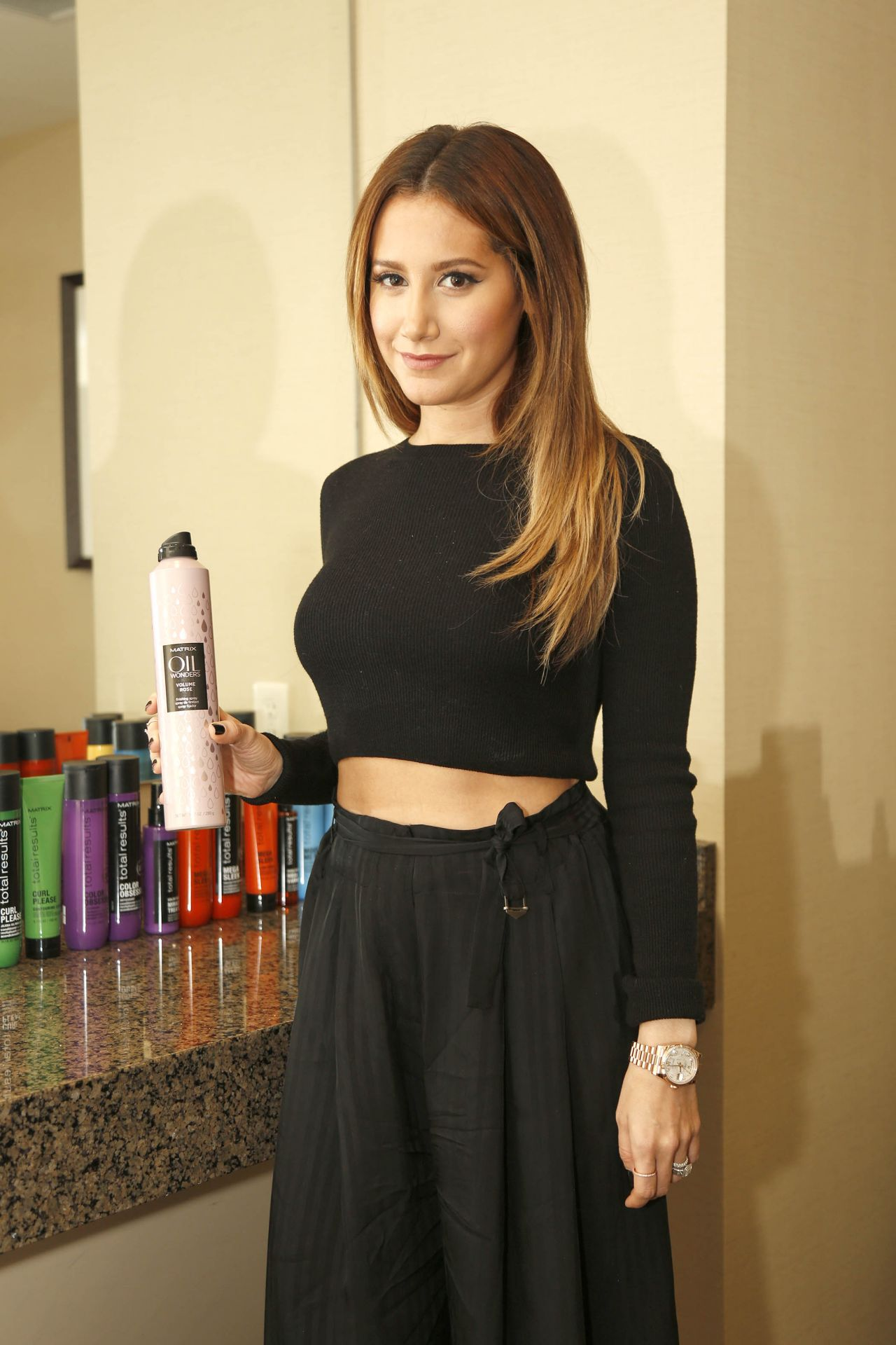 Ashley Tisdale – Matrix Total Results Reinvention at Destination in ...