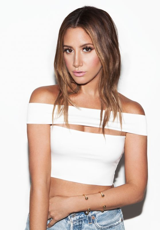 Ashley Tisdale - Photoshoot for BH Cosmetics & Women's Wear Daily January 2016