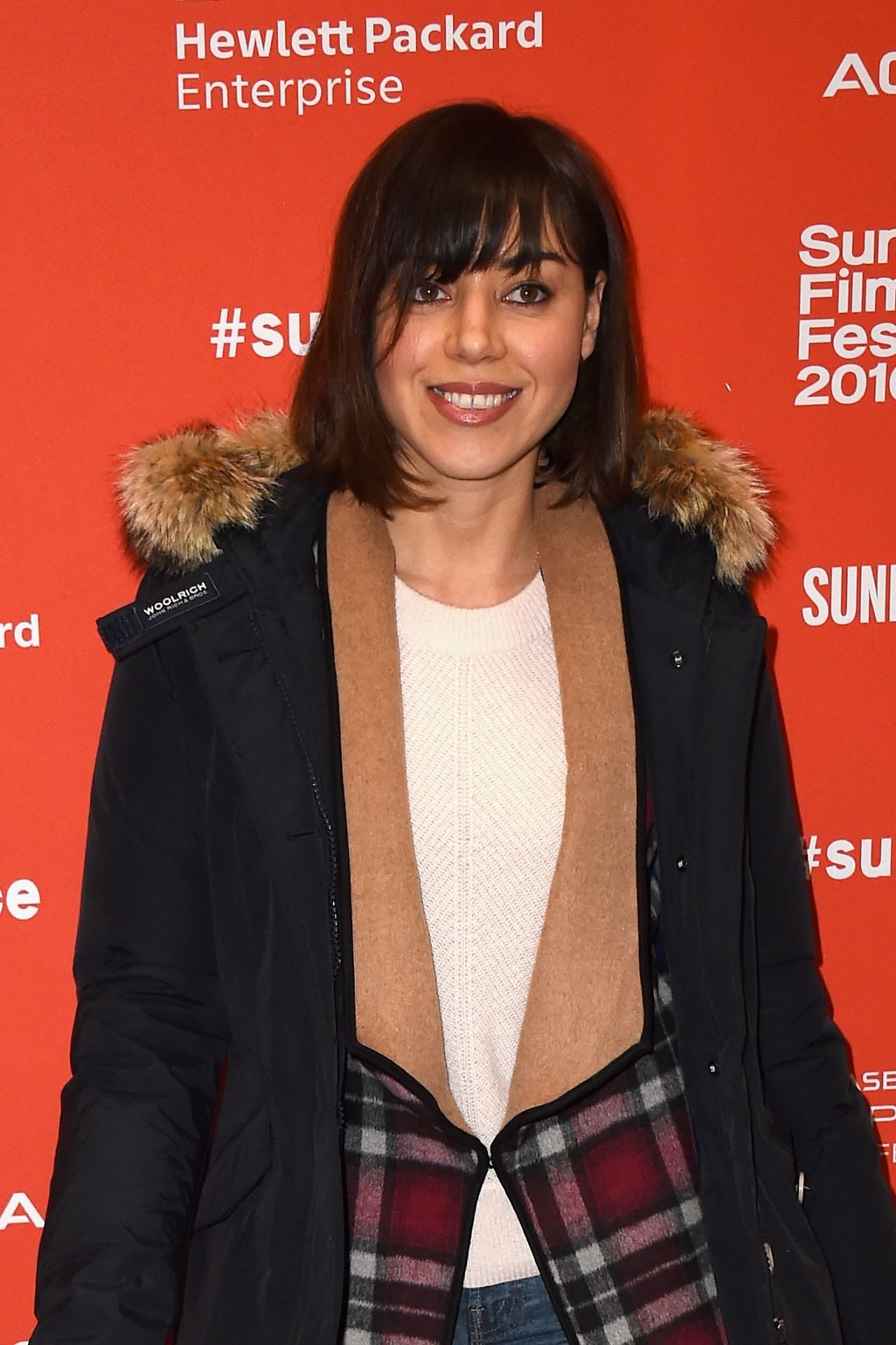 Aubrey Plaza Manchester By The Sea Premiere In Park
