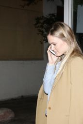 Bar Refaeli at HaShulchan Restaurant in Tel Aviv 1/23/2016