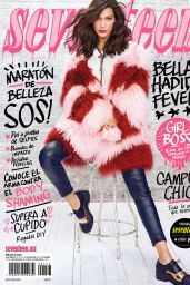 Bella Hadid - Seventeen Magazine Mexico February 2016 Issue