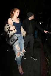 Bella Thorne in Ripper Jeans at the Nice Guy Nightclub in West Hollywood 1/23/2016