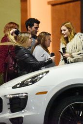 Bella Thorne Night Out Style - Out in Los Angeles 12/31/2015