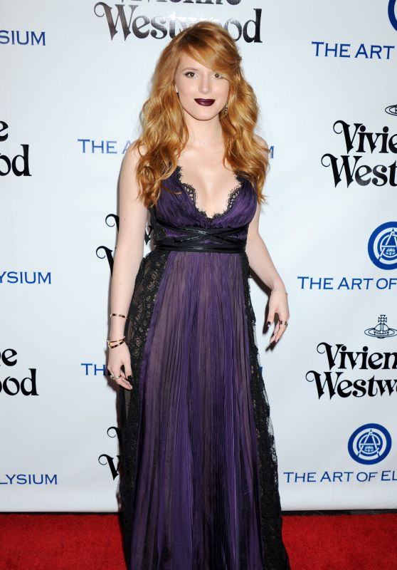 Bella Thorne - The Art of Elysium 2016 HEAVEN Gala in Culver City, CA