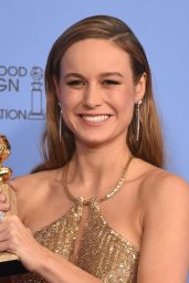 Brie Larson – 2016 Golden Globe Awards in Beverly Hills, Part II