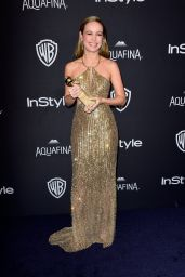 Brie Larson – InStyle And Warner Bros. 2016 Golden Globe Awards Post-Party in Beverly Hills