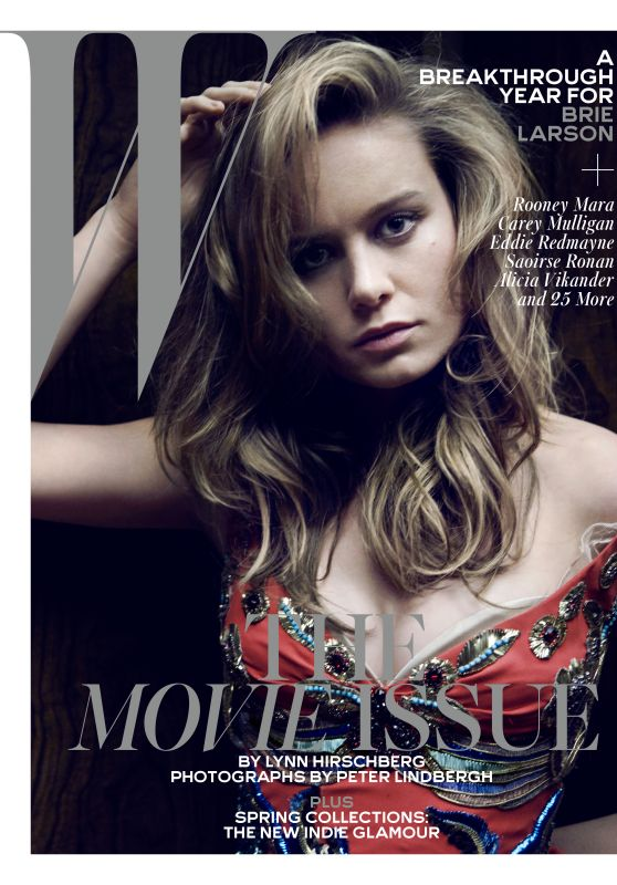 Brie Larson - W Magazine February 2016 Cover and Photo