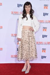 Britt Lower – 'The People v. O.J. Simpson: American Crime Story' Premiere in Westwood