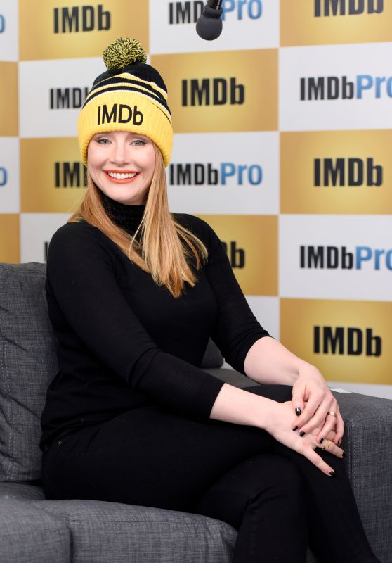 Bryce Dallas Howard at The IMDb Studio In Park City, Utah, 1/25/2016