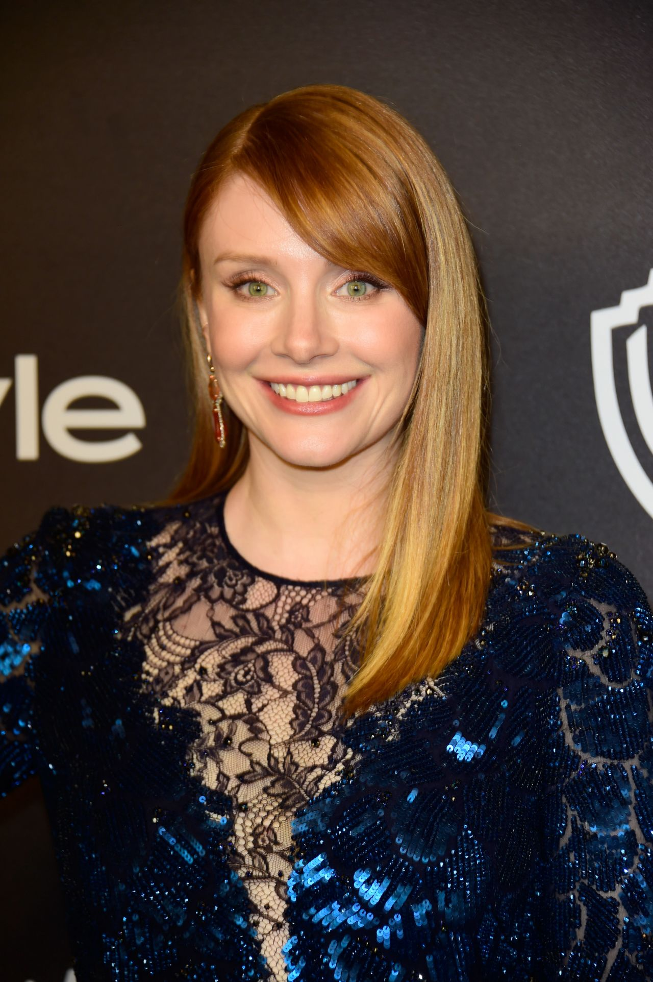 Bryce Dallas Howard Instyle And Warner Bros Golden