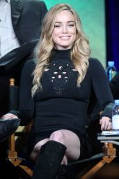Caity Lotz - 2016 Winter TCA Tour in Pasadena 1/10/2016