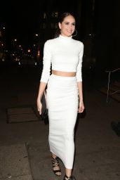Cally Beech Night Out Style – Steam & Rye Club in London 1/28/2016