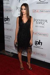 Camilla Belle – Jennifer Lopez All I Have Residency Launch in Las Vegas, January 20, 2016