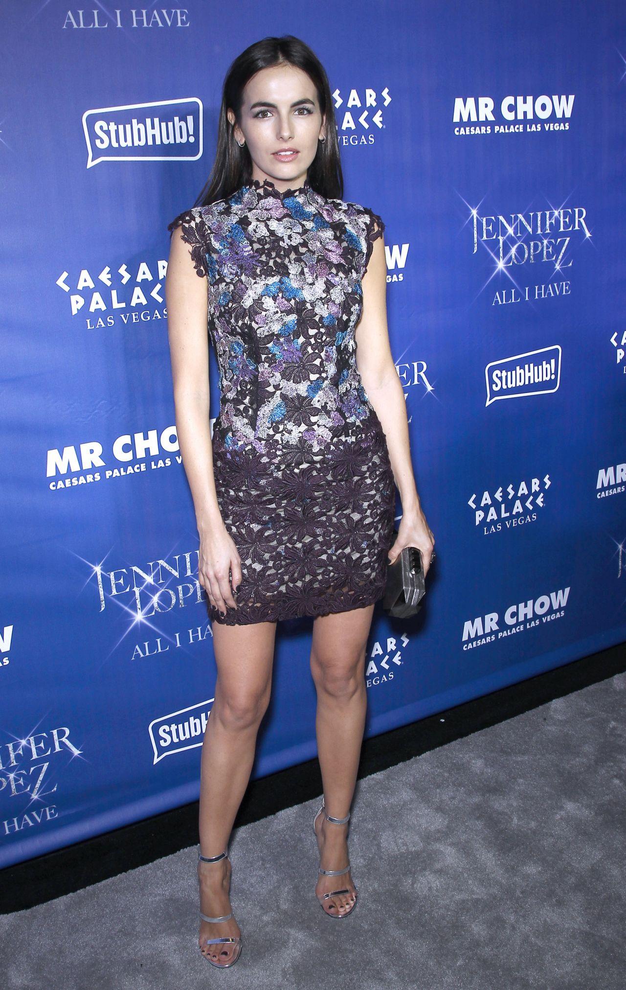 Camilla Belle Jennifer Lopez S All I Have Residency