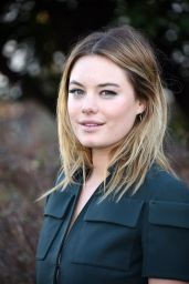 Camille Rowe - Christian Dior Fashion show in Paris, January 2016