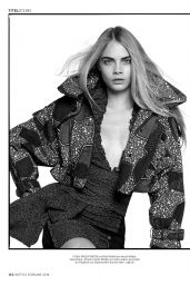 Cara Delevingne - InStyle Magazine Germany February 2016 Issue