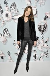 Carla Bruni – Schiaparelli Haute couture Spring/Summer 2016 Fashion Show in Paris
