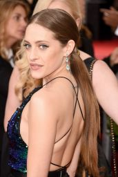 Carly Chaikin - 2016 Golden Globe Awards in Beverly Hills, CA
