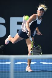 Caroline Wozniacki - 2016 ASB Classic Womens, New Zealand, Day 3