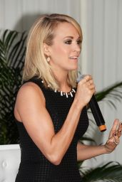 Carrie Underwood - Announces her Partnership with Carnival Cruise Line in Jacksonville 1/28/2016