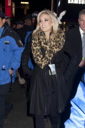 Carrie Underwood - Times Square in NYC, 12/31/2015