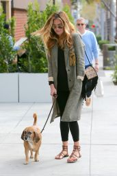 Cat Deeley and Patrick Kielty - Walking Their Dog Lilly 1/27/2016