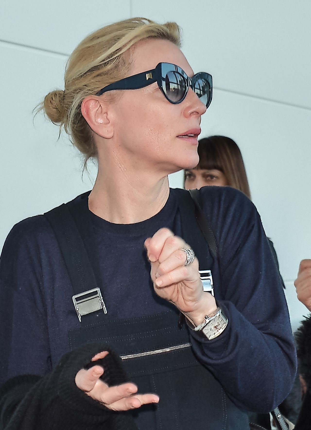 Cate Blanchett - Arriving at Tokyo International Airport ... Cate Blanchett 2016