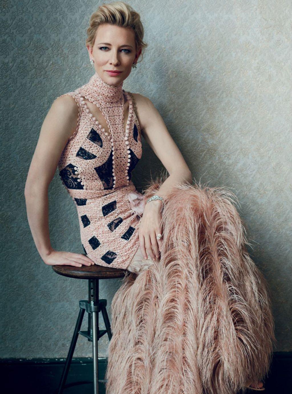 Cate Blanchett - Harper's Bazaar Magazine February 2016 Photos Cate Blanchett