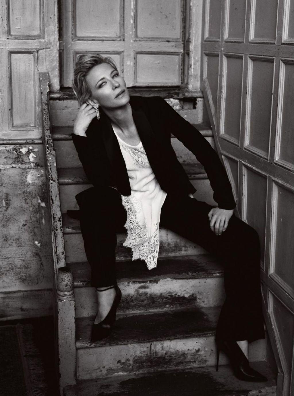 Cate Blanchett - Harper's Bazaar Magazine February 2016 Photos Cate Blanchett 2016