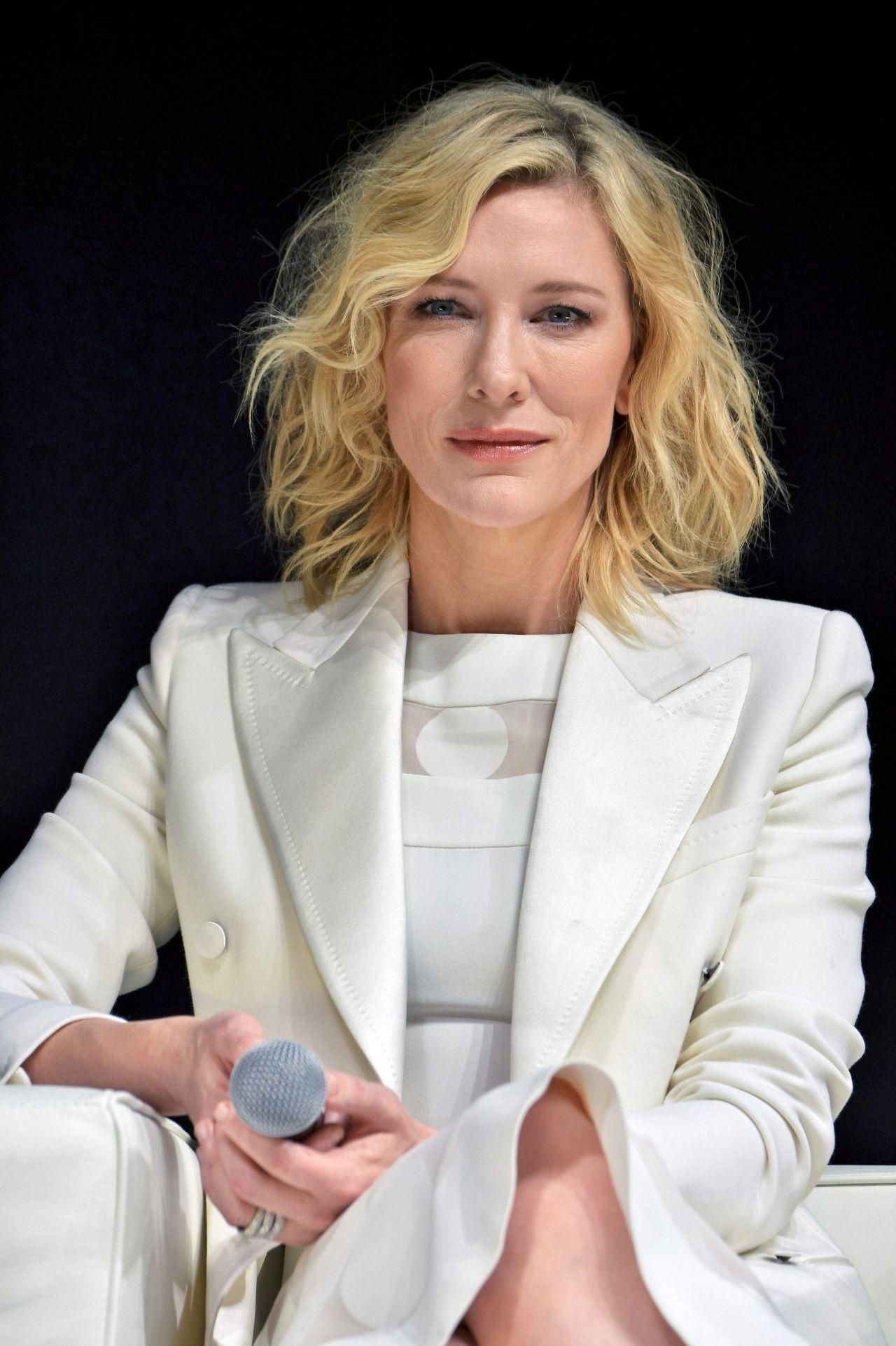 Cate Blanchett - SK-II Change Destiny Campaign Launch in ... Cate Blanchett 2016