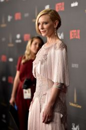 Cate Blanchett – The Weinstein Company & Netflix Golden Globe2016 After Party in Beverly Hills