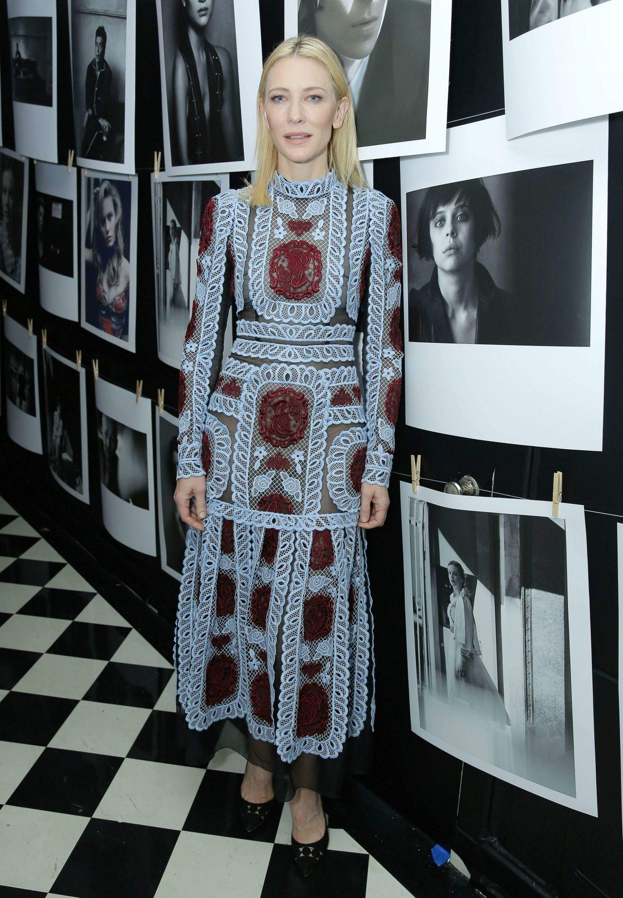 Cate Blanchett - W Magazine 2016 Golden Globe Party Cate Blanchett 2016