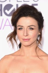 Caterina Scorsone – 2016 People's Choice Awards in Microsoft Theater in Los Angeles