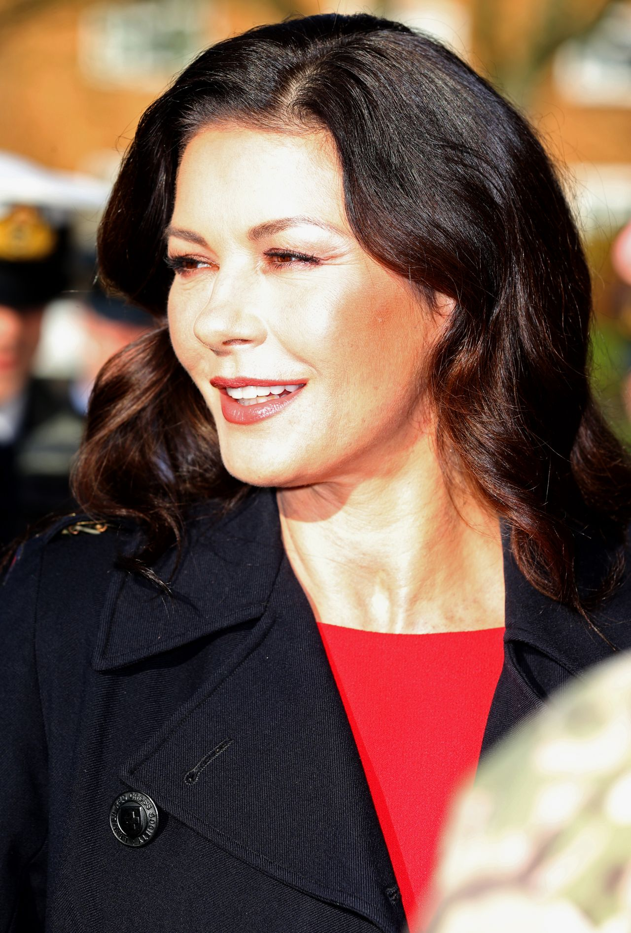 Catherine Zeta-Jones - 'Dad's Army' Screening in Bedford ... Catherine Zeta Jones