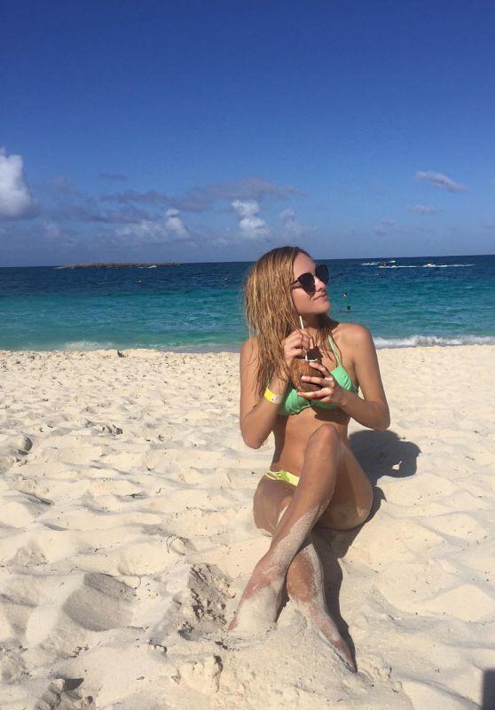 Chachi Gonzales in a Bikini - Bahamas 12/31/2015