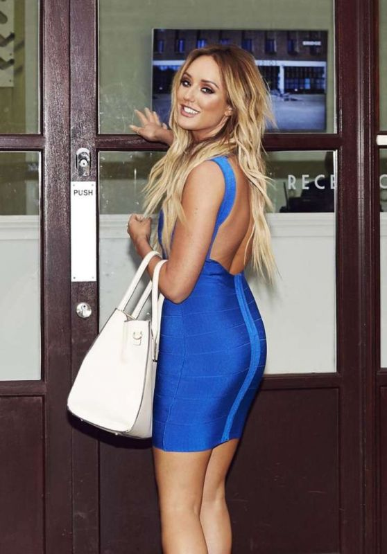 Charlotte Crosby - Heading for a Photo Shoot in London 12/31/2015