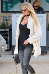 Charlotte McKinney Street Fashion - Out in Beverly Hills 1/27/2016