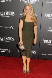 Charlotte Ross on Red Carpet – 'The Finest Hours' Premiere in Los Angeles
