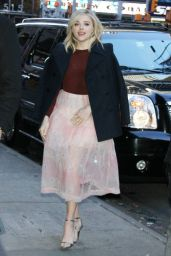 Chloe Moretz Arriving to Appear on Good Morning America in NYC 1/5/2016