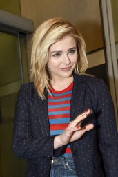 Chloe Moretz at the RTL Radio Station in Paris 1/20/2016