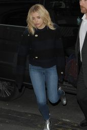 Chloe Moretz in Tight Jeans - Arriving Back at Her hotel in Paris 1/19/2016