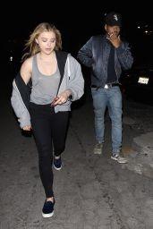 Chloe Moretz Night Out - Leaving Bardot Nightclub in Hollywood 1/25/2016
